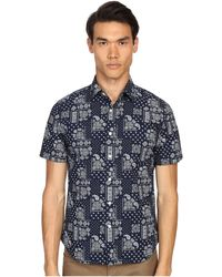 Jack Spade - Clift Bandana Print Button Down Shirt - Lyst