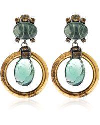 Iradj Moini - Green Fluorite Loop Earrings - Lyst