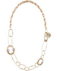 Lanvin Long Golden Chain Necklace/Belt - Lyst