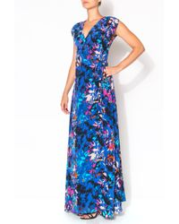 Yumi Kim Swept Away Jersey Maxi Dress blue - Lyst