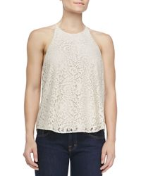 Joie Cualli B Lace Tank Top - Lyst