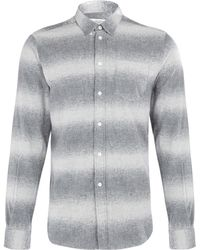 Uniforms for the Dedicated - Grey Ombre Stripe Classic Shirt - Lyst