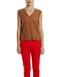 A.L.C. James Tee In Nutmeg brown - Lyst