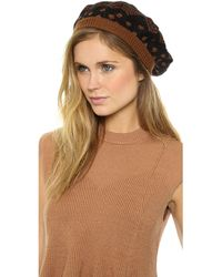 Missoni Basque Hat - Brown - Lyst