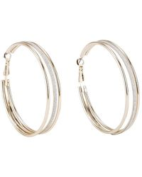 Oasis Hoop Earrings - Lyst