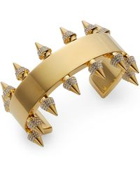 Vita Fede Jeweled Spike Bracelet - Lyst