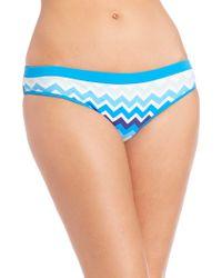 Shoshanna | Laguna Banded Bikini Bottom | Lyst