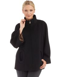 Betsey Johnson Belle Sleeved Coat - Lyst