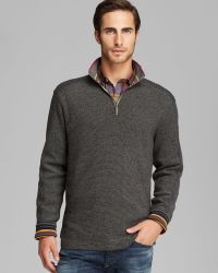 Robert Graham Falconer Half Zip Sweater - Lyst