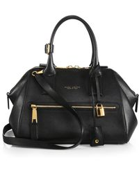 Marc Jacobs Incognito Medium Textured Leather Top-Handle Bag - Lyst