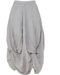 Grizas - Knotted Skirt - Lyst