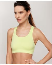 Wacoal Seamless Wireless Sports Bra - Lyst
