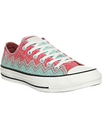 Converse Chuck Taylor X Missoni Low Trainers - For Men - Lyst