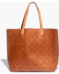 Madewell The Holepunch Transport Tote - Lyst