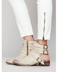 Free People Riga Ankle Boot - Lyst