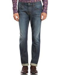 Gucci Stone Washed Skinny Jeans - Lyst