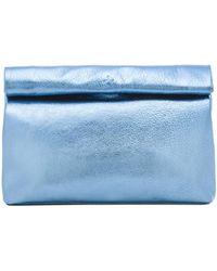 Marie Turnor Blue Lunch Clutch - Lyst