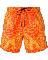 Versace Swim Shorts - Lyst