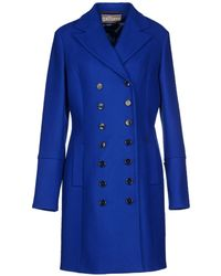 John Galliano Blue Coat - Lyst