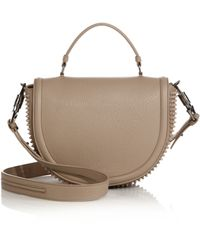 Christian Louboutin Panettone Spike-Studded Messenger Bag - Lyst