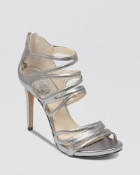 Vince Camuto Open Toe Platform Evening Sandals Fortuner High Heel - Lyst