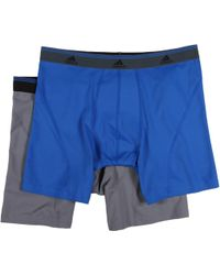 Adidas Sport Performance Climalite 2pack Boxer Brief - Lyst