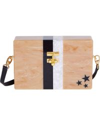 Edie Parker Small Trunk Stars And Stripes - Lyst