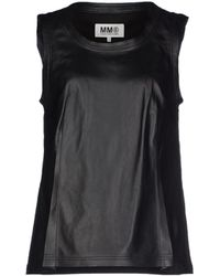 MM6 by Maison Martin Margiela Top - Lyst