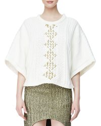 Sass & Bide The Story Line Knit Top - Lyst