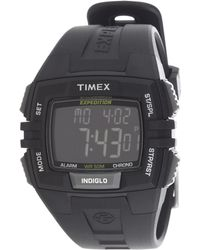Timex® Expedition® Full-Size Chrono Alarm Timer Watch - Lyst