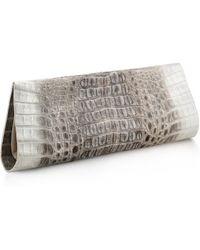 Anne Sisteron Crocodile As Clutch - Lyst