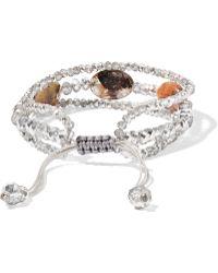 Chan Luu - Lodolite And Crystal Bracelet Set - Lyst
