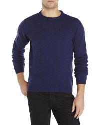 Sand | Navy Wool Sweater | Lyst