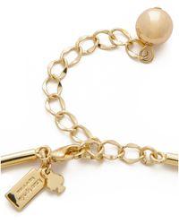 Kate Spade - Fancy Flock Collar Necklace - Gold - Lyst