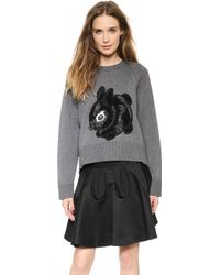 Viktor & Rolf - Rabbit Sweater - Grey - Lyst