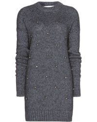 Dorothee Schumacher Covered In Jewels Mohair-Blend Sweater Dress - Lyst