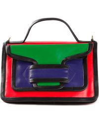 Pierre Hardy Colour Block Satchel - Lyst