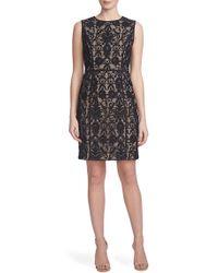 Cynthia Steffe | 'elenora' Lace Sheath Dress | Lyst