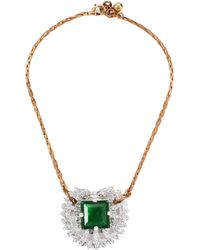 Lulu Frost Vintage One-Point Pendant gold - Lyst