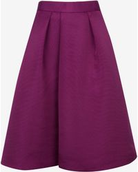Ted Baker | Ribbed Midi Skirt | Lyst
