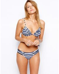 Seafolly Seaview Ruched Side Bikini Bottoms - Lyst