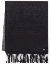 BOSS | Wool Scarf | Lyst
