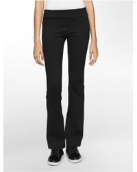 Calvin Klein White Label Performance Bootleg Pants - Lyst