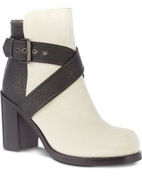 McQ by Alexander McQueen Nazrul Leather Ankle Boots - Lyst