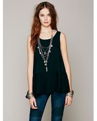 Free People Pleated Swing Tank - Lyst