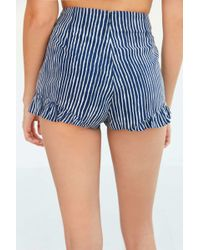 Cooperative - Ruffle Print Pin-up Short - Lyst