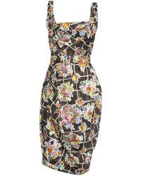 Vivienne Westwood Red Label - Dna Floral-Print Dress - Lyst