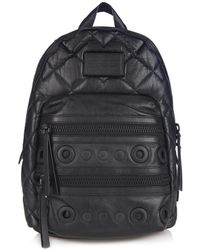 Marc By Marc Jacobs - Domo Biker Quilted Leather Backpack - Lyst