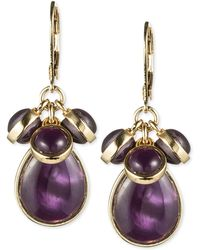 Jones New York - Epoxy Stone Cluster Earrings - Lyst