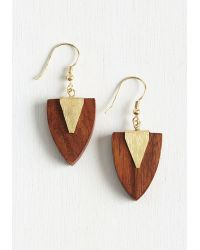 Mata Traders - Who Wood Have Guessed? Earrings - Lyst